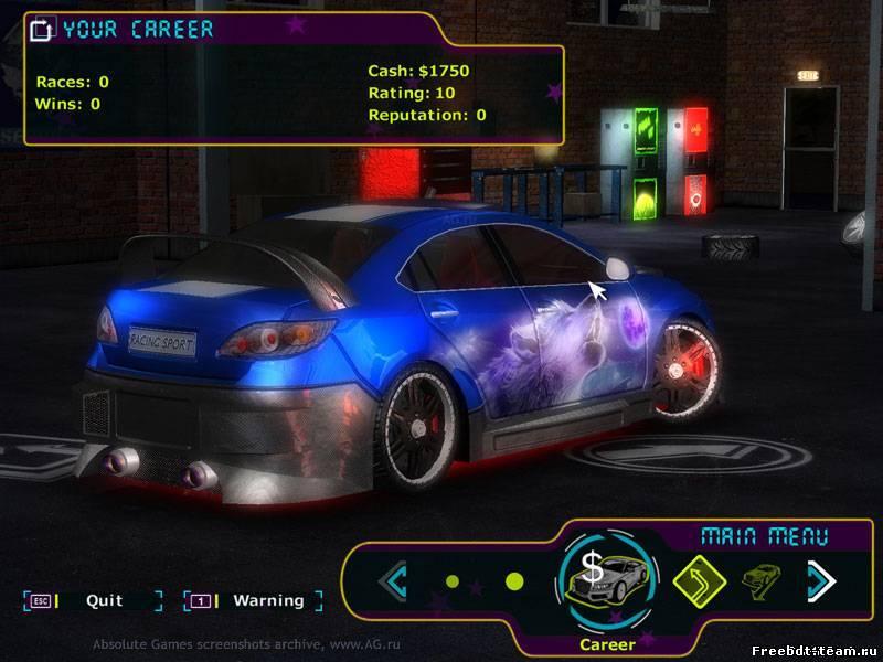 скачать игру Street Racing Stars покорение америки - фото 7