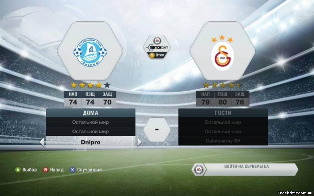 Fifa 14 украинская лига 3. 1 update.